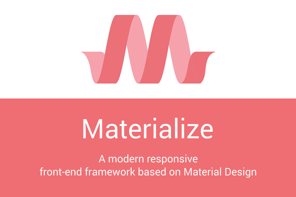 Blank materialize theme october cms for How to materialize