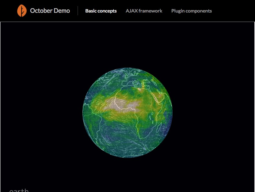 Earth Nullschool Maps Plugin October Cms