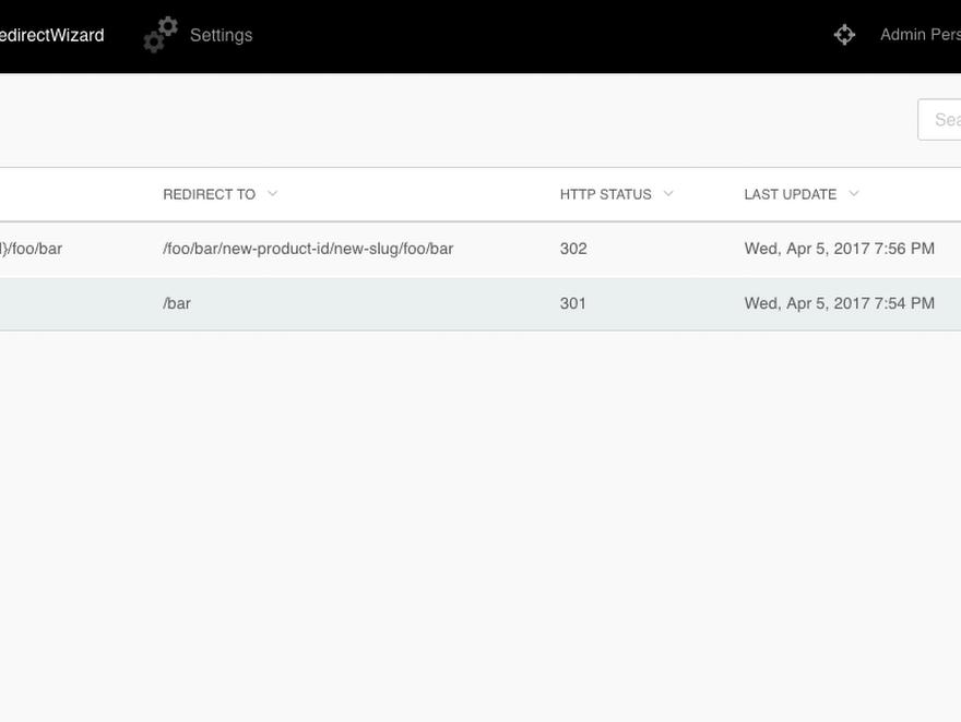 RedirectWizard plugin - October CMS