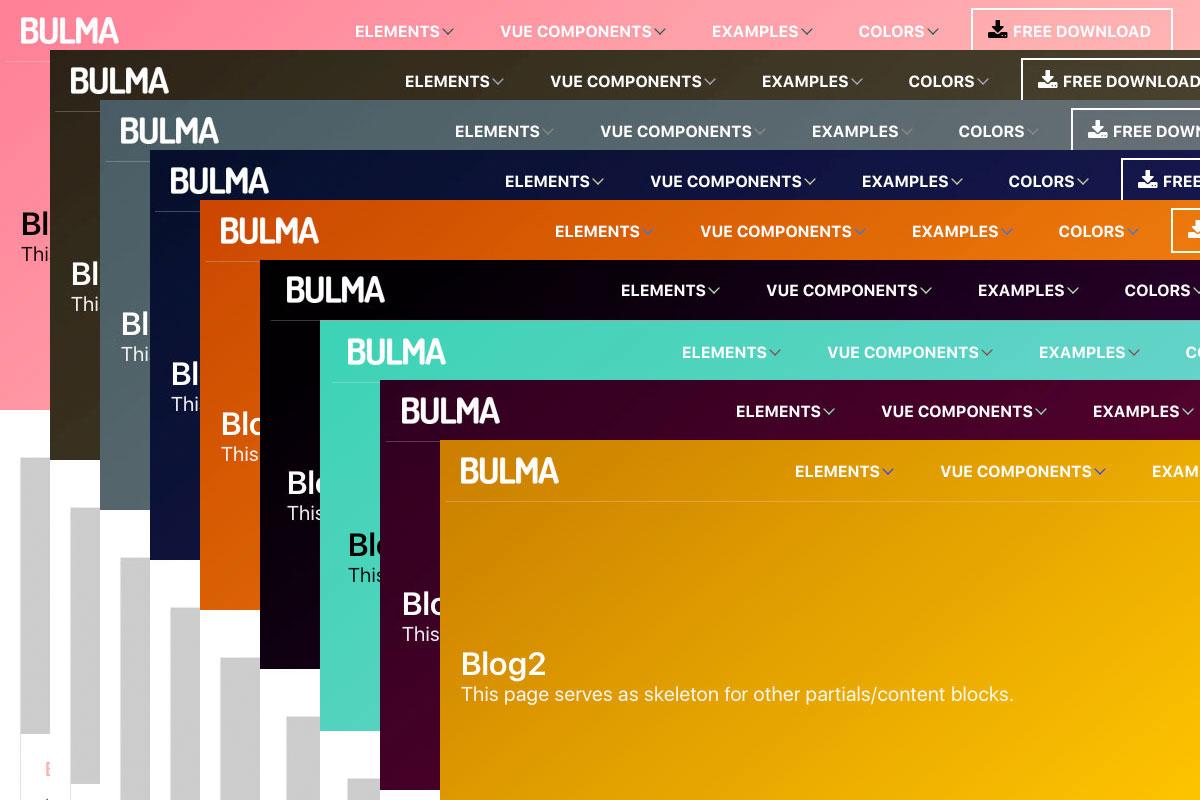 Bulma Boilerplate Theme theme - October CMS